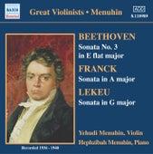 Beethoven / Franck / Lekeu: Violin Sonatas (Menuhin) (1936-1940) by Yehudi Menuhin