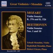 Mozart / Beethoven: Violin Sonatas (Menuhin) (1929-1947) by Yehudi Menuhin