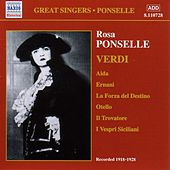 Ponselle, Rosa: Rosa Ponselle Sings Verdi (1918-1928) de Various Artists