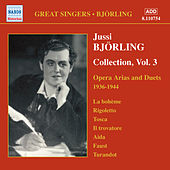 Bjorling, Jussi: Bjorling Collection, Vol. 3: Opera Arias and Duets (1936-1944) von Jussi Bjorling