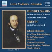 Mendelssohn / Bruch: Violin Concertos (Menuhin) (1951-1952) by Yehudi Menuhin