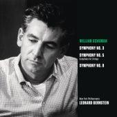Schuman: Symphonies Nos. 3, 5 & 8 by Leonard Bernstein