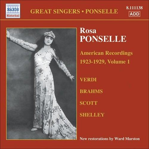 Ponselle, Rosa: American Recordings, Vol. 1 (1923-1929) von Rosa Ponselle