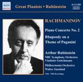 Rachmaninov: Piano Concerto No. 2 / Rhapsody On A Theme of Paganini (Rubinstein) (1946-1950) by Arthur Rubinstein