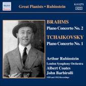 Brahms: Piano Concerto No. 2 / Tchaikovsky: Piano Concerto No. 1 (Rubinstein) (1929, 1932) by Arthur Rubinstein