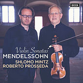 Mendelssohn: Violin Sonatas de Shlomo Mintz