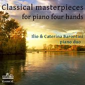 Classical Masterpieces for Piano Four Hands de Caterina Barontini