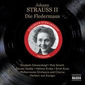 Strauss Ii, J.: Die Fledermaus (The Bat) (Schwarzkopf, Gedda, Karajan) (1955) by Various Artists