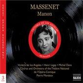Massenet: Manon (Los Angeles, Legay, Monteux) (1950) de Various Artists