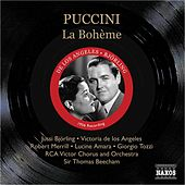 Puccini: Boheme (La) (Bjorling, De Los Angeles, Beecham) (1956) by Various Artists