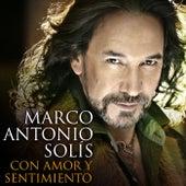Con Amor Y Sentimiento de Marco Antonio Solis