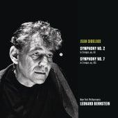 Sibelius: Symphony No. 2 in D major, op. 43; Symphony No. 7 in C Major, Op. 105 von Leonard Bernstein / New York Philharmonic