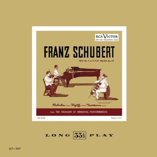 Schubert: Trio No. 1, in B flat Major, Op. 99 by Jascha Heifetz