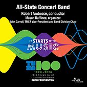 2020 Texas Music Educator's Association (TMEA): All-State 6A Concert Band [Live] by Texas All-State 6A Concert Band