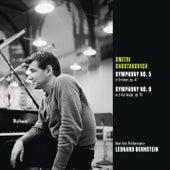 Shostakovich: Symphony No. 5 in D minor, op. 47; Symphony No. 9 in E-flat major, op. 70 di Leonard Bernstein / New York Philharmonic