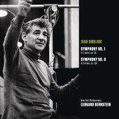 Sibelius: Symphony No. 1 in E minor, op. 39; Symphony No. 6 in D minor, op. 104 by Leonard Bernstein