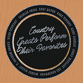 Country Greats Perform Their Favorites de Various Artists