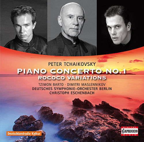 Tchaikovsky: Piano Concerto No. 1 - Rococo Variations by Christoph Eschenbach