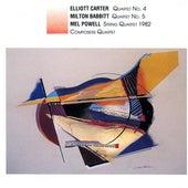 American String Quartets of the Late 20th Century de Composer's Quartet