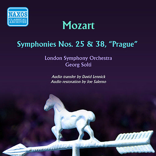Mozart: Symphonies Nos. 25 & 38 by Georg Solti