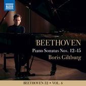 Beethoven 32, Vol. 4: Piano Sonatas Nos. 12-15 von Boris Giltburg