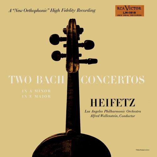 Bach: Concerto No. 1, BWV 1041 in A Minor, Concerto No. 2, BWV 1042 in E by Jascha Heifetz