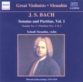 Bach, J.S.: Sonatas and Partitas (Menuhin) (1934-1935) by Yehudi Menuhin