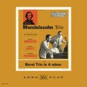 Ravel: Trio in A minor; Mendelssohn: Trio no. 1 in D minor, Op. 49 de Jascha Heifetz