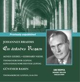 Brahms: Ein deutsches Requiem, Op. 45 de St. Thomas's Boys Choir Leipzig