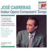 Italian Operas Composers' Songs de José Carreras