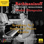 Rachmaninoff: Symphony No. 2, Symphonic Dances & Vocalise for Orchestra von Dimitri Mitropoulos