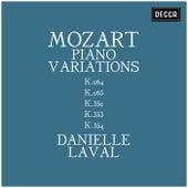 Mozart: Piano Variations K.264, K. 265, K.352, K.353, K.354 von Danielle Laval