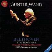 Mozart: Posthorn Serenade / Beethoven: Symphony No. 4 by Günter Wand