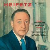 Rosza: Violin Concerto, Op. 24, Spohr: Violin Concerto No. 8, Op. 47 in A Minor, Tchaikovsky: Sérénade mélancolique, Op. 26 von Jascha Heifetz