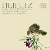 Vitali: Chaconne in G Minor, Tedesco: The Lark, Fauré: Sonata No. 1, Op. 13, in A by Jascha Heifetz