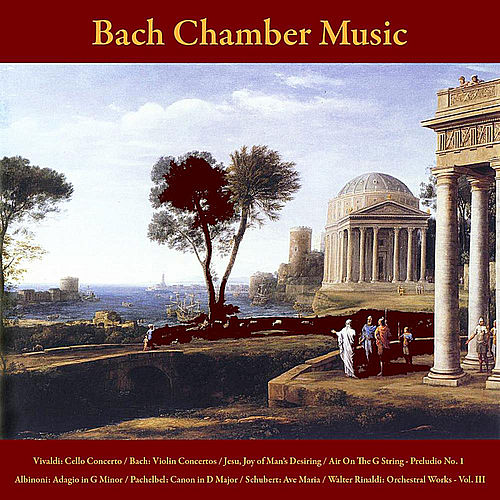 Vivaldi: Cello Concerto / Bach: Violin Concertos - Jesu, Joy of Man's Desiring - Air On The G String - Prelude No. 1 /  Albinoni: Adagio in G Minor / Pachelbel: Canon in D Major / Schubert: Ave Maria / Walter Rinaldi: Orchestral Works, Vol. III by Bach Chamber Music