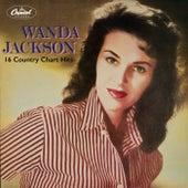 16 Country Chart Hits von Wanda Jackson