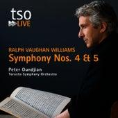 Ralph Vaughan Williams: Symphony Nos. 4 & 5 de Toronto Symphony Orchestra