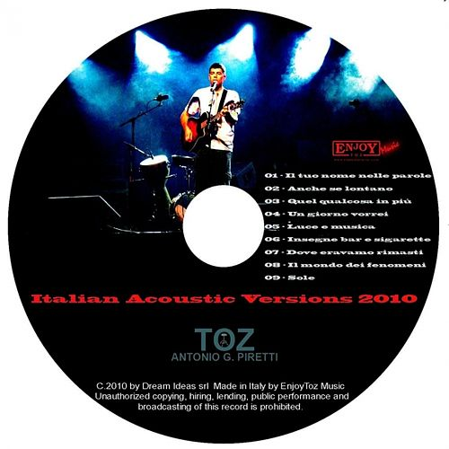 Italian Acoustic Versions (2010) by Toz