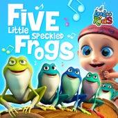 Five Little Speckled Frogs by LooLoo Kids