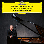 Beethoven: Piano Sonatas Nos. 1-6 by Daniel Barenboim