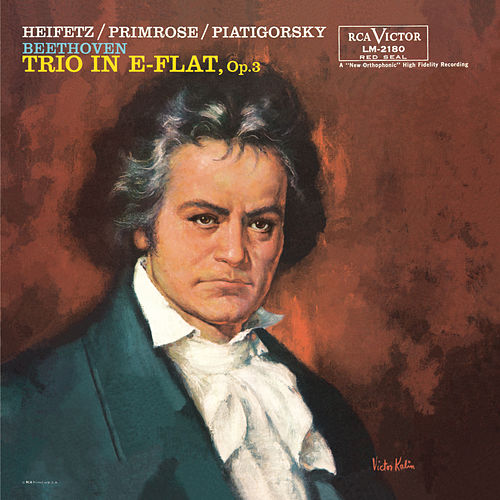 Beethoven: Trio, Op. 3, in E-Flat, by Jascha Heifetz