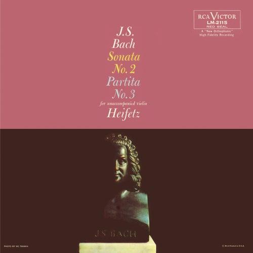 Bach: Sonata No. 2, BWV 1003, in A Minor, Partita No. 3, BWV 1006, in E by Jascha Heifetz