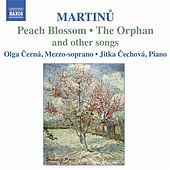 Martinu: Songs for Mezzo-Soprano and Piano by Various Artists