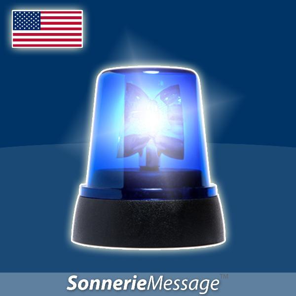 sir ne police americaine gyrophare police flics single by sonnerie message. Black Bedroom Furniture Sets. Home Design Ideas