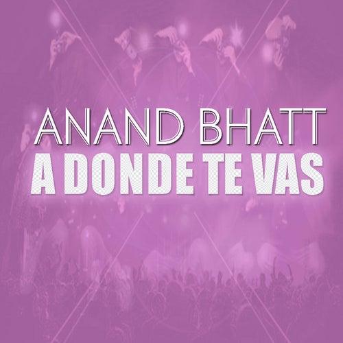 A Donde Te Vas by Anand Bhatt