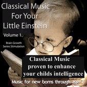 Classical Music For Your Little Einstein de Various Artists