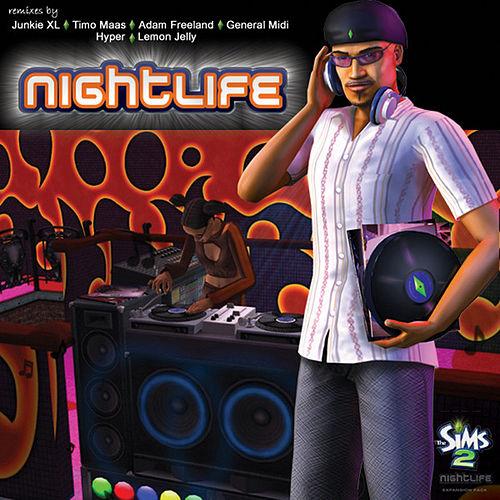 The Sims 2: Nightlife by EA Games Soundtrack