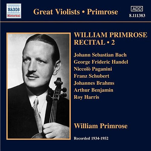 Primrose: Recital, Vol. 2 by Various Artists
