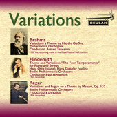 Variations by Brahms, Hindemith and Reger von Philharmonia Orchestra